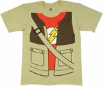 Big Bang Theory Sheldon Costume T Shirt