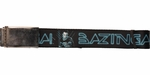 Big Bang Theory Sheldon TRON Bazinga Wide Mesh Belt