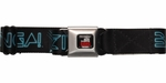 Big Bang Theory Sheldon TRON Bazinga Seatbelt Mesh Belt