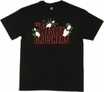 Big Bang Theory Wesley Crushers Black T Shirt