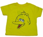 Big Bird Face Kids T-Shirt