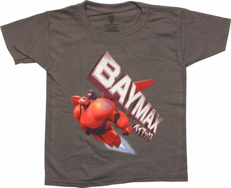 Big Hero 6 Baymax Duo Flight Toddler T-Shirt