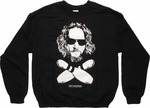 Big Lebowski Dude and Cross Pins Sweatshirt
