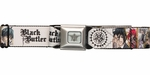 Black Butler Characters White Seatbelt Belt