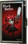 Black Butler SD Grell Chainsaw Card Case
