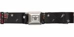 Black Butler SD Grell Stars Bolts Seatbelt Belt
