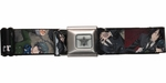 Black Butler Sebastian and Ciel Scenes Seatbelt Mesh Belt