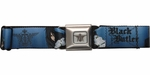 Black Butler Sebastian Michaelis Blue Seatbelt Mesh Belt
