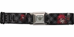 Black Butler Super Deformed Grell Chainsaw Seatbelt Mesh Belt
