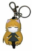 Black Cat Eve Keychain