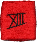 Black Cat XIII Red Wristband