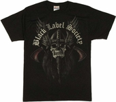Black Label Society Skull T Shirt