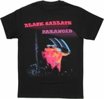 Black Sabbath Paranoid Cover T Shirt