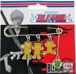 Bleach Three Kon Pin Pewter