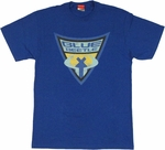 Blue Beetle Shield T Shirt