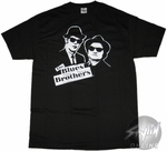 Blues Brothers Black White T-Shirt
