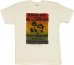 Blues Brothers Concert T Shirt Sheer