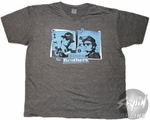 Blues Brothers Mug Shots T-Shirt Sheer
