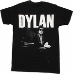 Bob Dylan Piano T Shirt Sheer