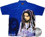 Bob Marley Blue Club Shirt