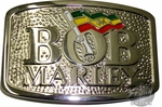 Bob Marley Flag Belt Buckle