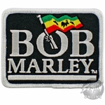 Bob Marley Hand Flag Patch