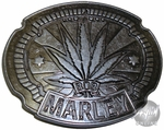 Bob Marley Leaf Belt Buckle