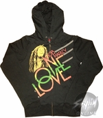Bob Marley One Love Junior Hoodie