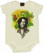 Bob Marley Rainbow Snap Suit