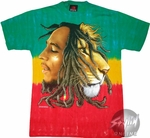 Bob Marley Tie Dyed T-Shirt