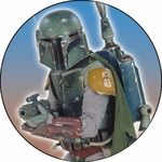 Boba Fett Button