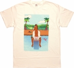 BoJack Horseman Pool View T-Shirt