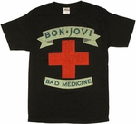 Bon Jovi Bad Medicine T Shirt