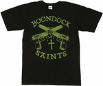 Boondock Saints Rosary T Shirt