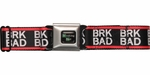 Breaking Bad BRK BAD Seatbelt Mesh Belt