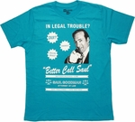 Breaking Bad Call Saul Point T Shirt Sheer