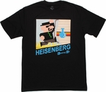 Breaking Bad Heisenberg Cartridge Art T Shirt Sheer