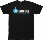 Breaking Bad Heisenberg Labs T Shirt Sheer