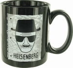 Breaking Bad Heisenberg Sketch Jumbo Mug