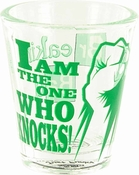 Breaking Bad Knocks Fist Shot Glass
