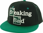 Breaking Bad Logo Black Green Hat
