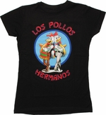 Breaking Bad Los Pollos Hermanos Black Baby Tee