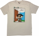 Breaking Bad One Who Knocks Toon T Shirt Sheer