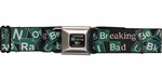 Breaking Bad Periodic Table Title Logo Seatbelt Mesh Belt