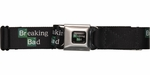Breaking Bad Title Logo Seatbelt Mesh Belt