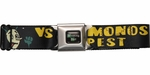 Breaking Bad Vamonos Pest Company Logo Seatbelt Mesh Belt