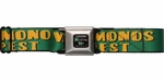 Breaking Bad Vamonos Pest Name Green Seatbelt Mesh Belt