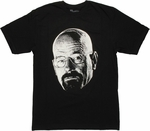 Breaking Bad Walter Head T Shirt Sheer