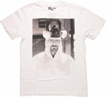 Breaking Bad Walter Mask Up T Shirt Sheer