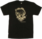 Bride of Frankenstein Bolts T Shirt